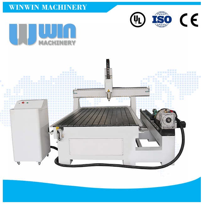 WW1325R Rotary 3D CNC Router