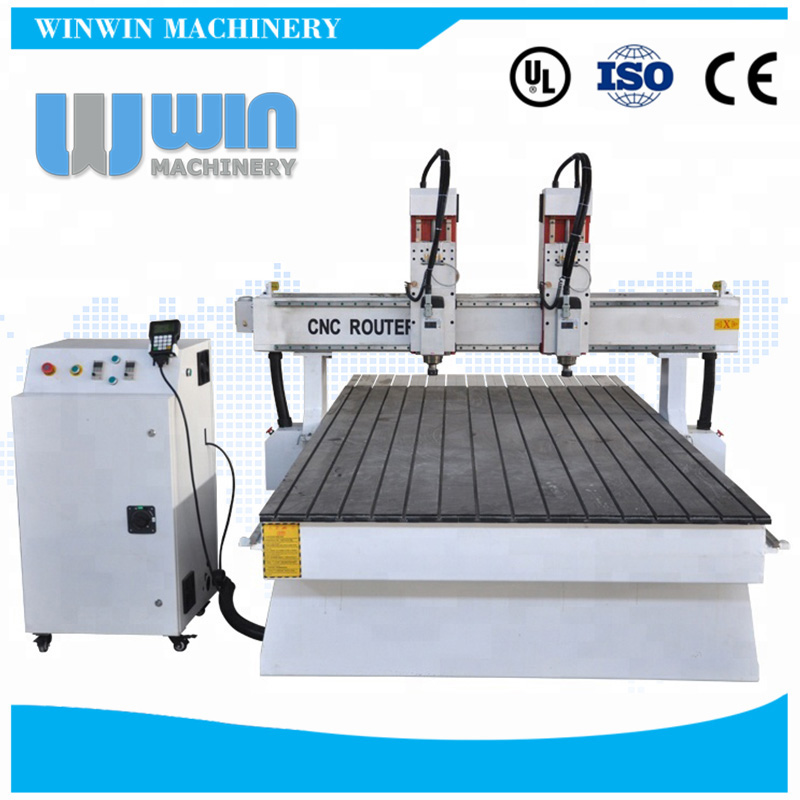 DH1325R 2 Heads CNC Router