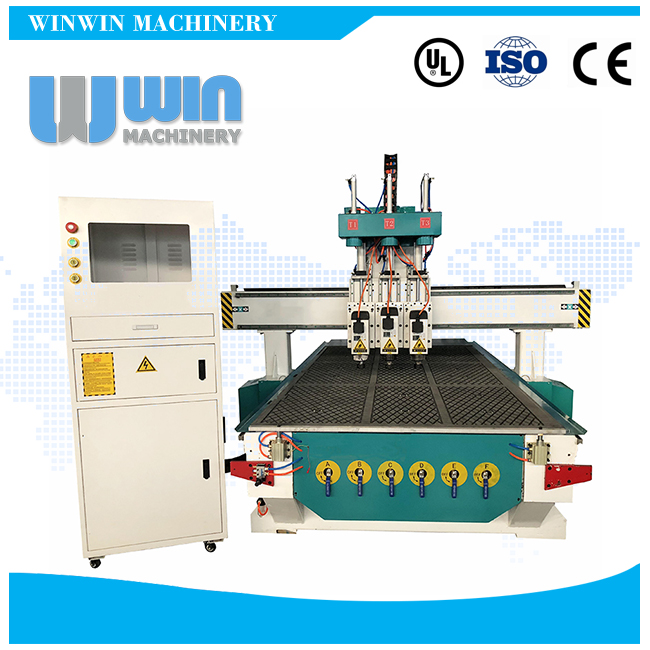 ATS1325 Three Heads CNC Router