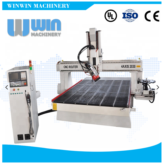 4AXIS2030 4 Axis CNC Router Engraver Machine