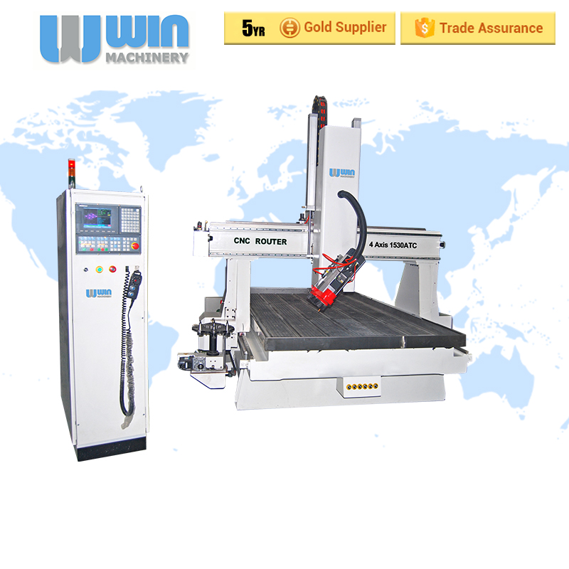 4AXIS1530 4 Axis CNC Milling Machine