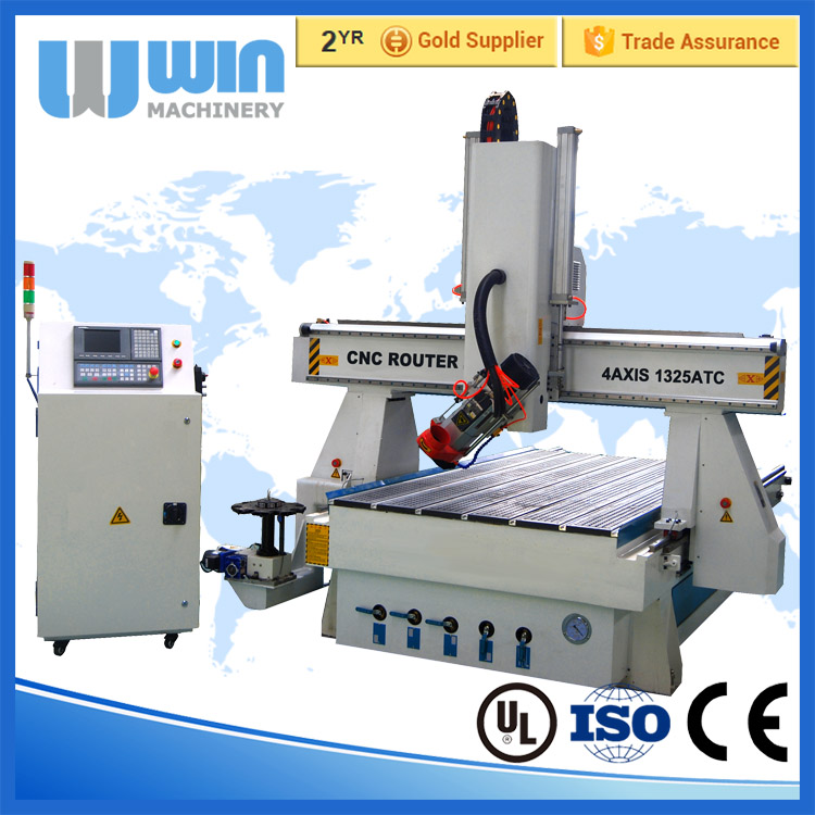 4AXIS1325 4 Axis CNC Machining Center