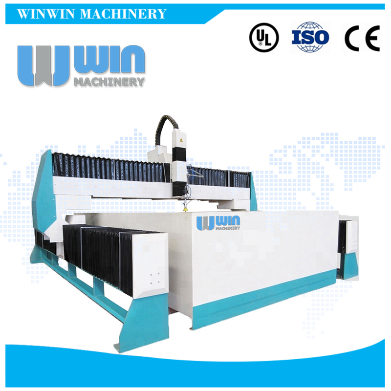 High Precision Auto Supercharger Water Jet Cutting Machine